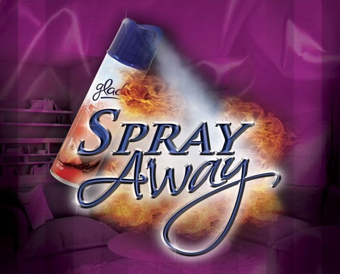 Spray Away- Desaparição baygon que desaparece Gustavo Raley D+