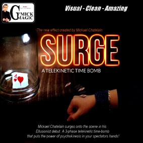 Surge Telekinetic time Bomb -Mickael Chatelain. F+