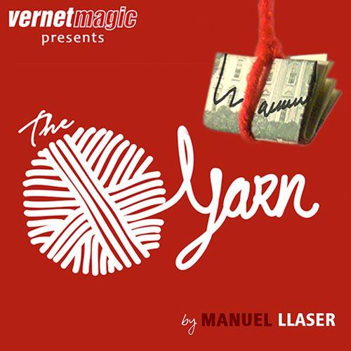 The Yarn By Manuel Liaser- Nota assinada e encontrada em lugar impossível - Vernet. R+