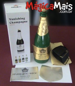 VANISHING CHAMPAGNE BOTTLE DELUXE