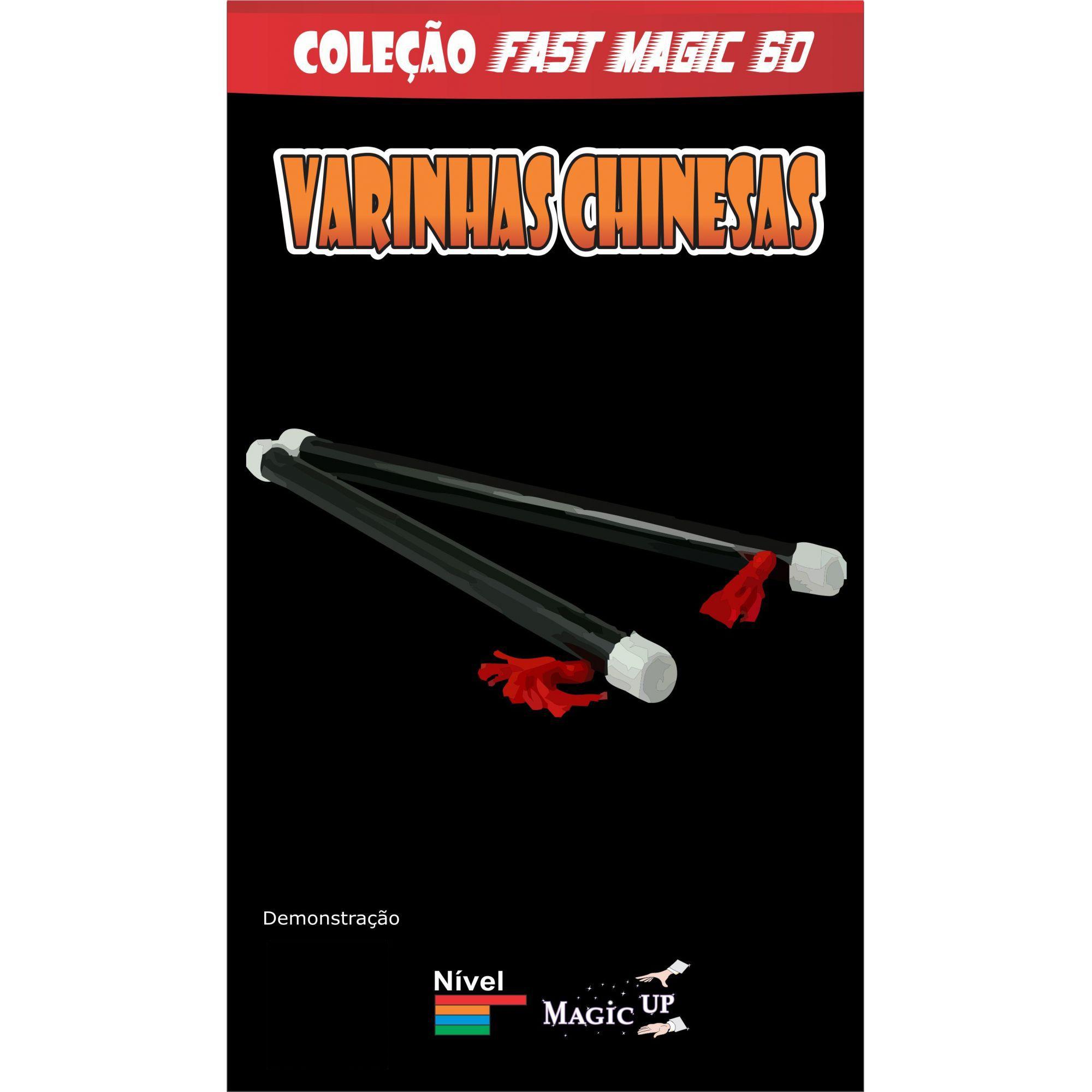 Varinhas Chinesas  Coleção Fast Magic Nº 63 B+