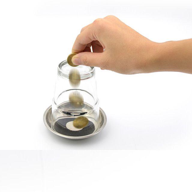 Visual coin to glass- Moeda atravessa o copo - Coleção Classic N 23 B+