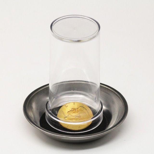 Visual coin to glass- Moeda atravessa o copo - Coleção Classic N 23