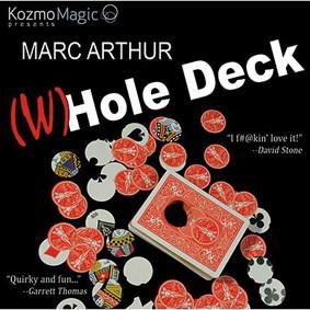 (W)Hole Deck (DVD and Gimmick) Azul ou vermelho