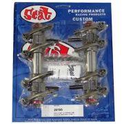 """Balanceiros """"Racing"""" Aço (4340) Forjado 1.4 - Type 1 - SCAT"""