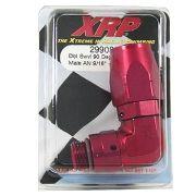Conexão 90º (ORB) 'Double Swivel' Forjada Macho - 8AN X 9/16-18 AN 6 - Red - XRP