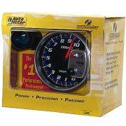 """Contagiros 10.000 Rpm com Shift-Lite Grande - Elétrico - 5"""" - Cobalt - AUTO METER"""