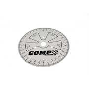 Disco de grau para enquadrar comando de válvulas 9