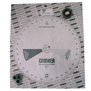 Disco de Grau Profissional Enquadrar Comando Cubo e Buchas 12