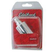 Filtro Combustível Billet Alumumínio Polido - Alto Fluxo - EDELBROCK