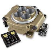 Injeção Eletrônica Sniper EFI - 800cfm - Dourada - Estilo Holley 4150 - HOLLEY