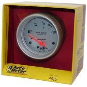 """Instrumento Medir Nível Combustível Ford/Mopar - (73 Ω E / 8-12 Ω F) - Elétrico - 2"""" 5/8"""" - Ultra-Lite - AUTO METER"""