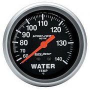 Instrumento Medir Temperatura Água 60-140°C Mecânico 2 5/8 Sport Comp - AUTO METER
