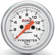 Instrumento Medir Temperatura Gases Escape 1600ºF com Termopar - Elétrico -2 1/16