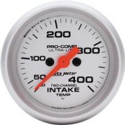 Instrumento para Medir Temperatura De Ar De Admissão 30º F - 400º F 2 Canais - Elétrico - 2
