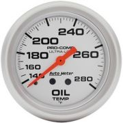 "Instrumento Temperatura de Óleo - Mecânico - 2"" 5/8"" - Imperial - Ultra-Lite  - AUTO METER"