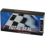 """Jogo de Anéis 3 7/8"""" + 0.35"""" 1/16 1/16 X 3/16 - 6 Cilindros em Linha Top Gapless - TOTAL SEAL"""