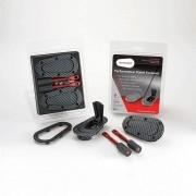 Kit de Travas para Capô - Sem Chave - Carbon Look - AEROCATCH
