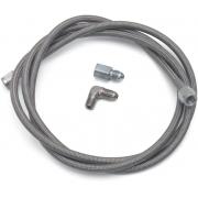 Linha revestida em aço inox para instalação de manômetros 4 AN - 6 Ft. - Russel