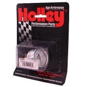 Manômetro para Linha de Combustível - 15 PSI - Branco - HOLLEY