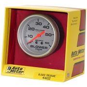 Manômetro Pressão Blower 0 - 60 PSI - Mecânico - 2 5/8