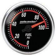 """Manômetro Pressão Combustível 0 - 100 PSI - Elétrico - 2"""" 1/16"""" - Nexus - AUTO METER"""