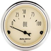 Manômetro Pressão de Óleo 0 - 100 Psi - Elétrico - 2