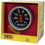 Manômetro Pressão Turbo-Vácuo 0 - 20 Psi - Mecânico - 2