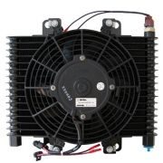 Radiador de Óleo com Ventoinha 500 CFM - Preto - B&M