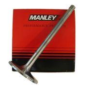 "Válvula Aço Inox 1.60"" Mopar Small Block - Exaustão - Swirl Polished - Race Master - MANLEY"