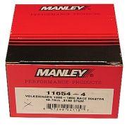 Válvula Aço Inox 35,5mm VW/AR - Exaustão - Swirl Polished - Race Master - MANLEY