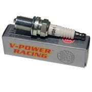 Vela Ignição - Grau Térmico 9º Sextavado Pequeno (5/8) Rosca 14mm - V-Power - NGK