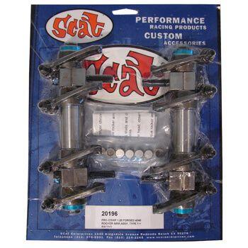 """Balanceiros """"Racing"""" Aço (4340) Forjado 1.25 - Type 1 - SCAT  - PRO-1 Serious Performance"""
