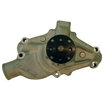 Bomba de Água em Alumínio - Alto Volume - Chevrolet V8 Small Block - Bomba Curta - EDELBROCK  - PRO-1 Serious Performance