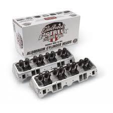 Cabeçote Alumínio E-Street 2.02/1.60 Chevrolet Small Block - EDELBROCK  - PRO-1 Serious Performance