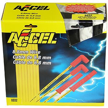 Cabo de Vela 8.8 mm Spiral Core Yellow - ACCEL  - PRO-1 Serious Performance