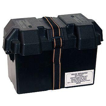 Caixa Selada para Bateria - Plástico - MR. GASKET  - PRO-1 Serious Performance