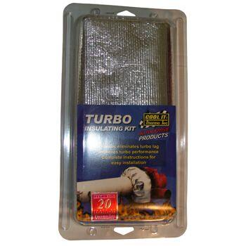 Capa Térmica para Revestimento de Turbina para 4 Cilindros - THERMO TEC  - PRO-1 Serious Performance