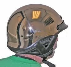 "Capacete ""Style Harley Davidson"" - Smocked Chrome - MD - SIMPSON  - PRO-1 Serious Performance"