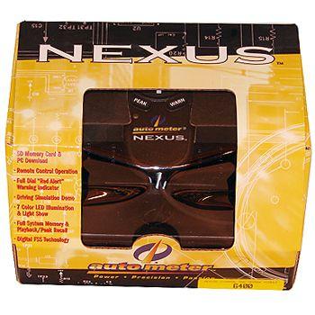 Central de Gerenciamento para NEXUS com Controle Remoto - AUTO METER  - PRO-1 Serious Performance