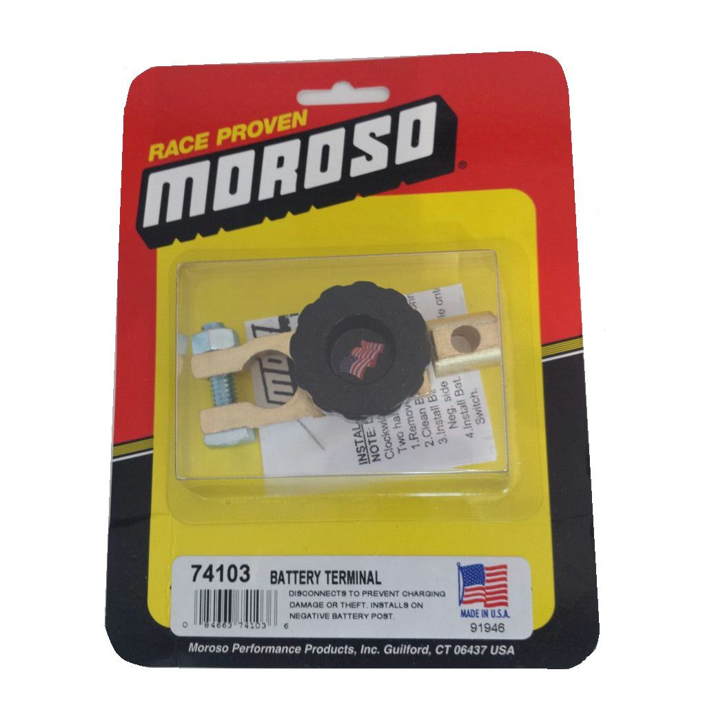 Chave Geral de Terminal Bateria - MOROSO  - PRO-1 Serious Performance