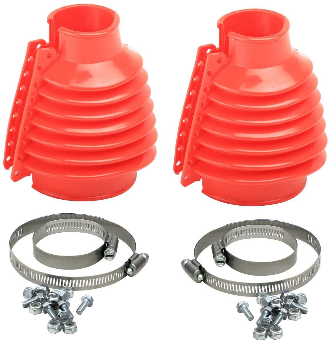 Coifa para semi-eixo em silicone - Par - Vermelha - VW/AR - Empi  - PRO-1 Serious Performance