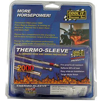 "Conduite Térmico Aluminizado - 1"" 1/8"" a 1""1/2"" - 90cm - THERMO TEC  - PRO-1 Serious Performance"