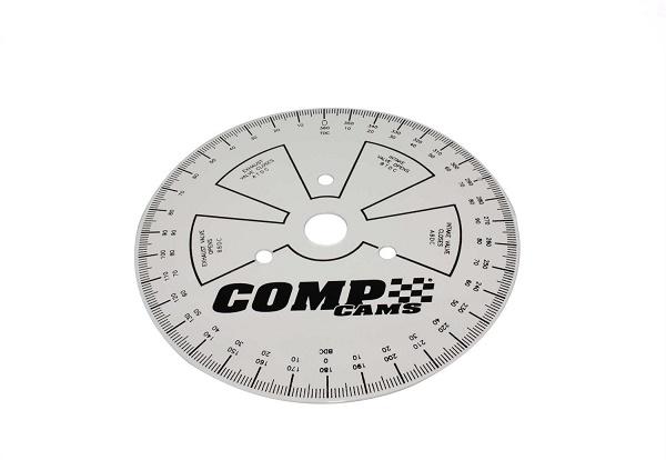 """Disco de grau para enquadrar comando de válvulas 9"""" - COMP CAMS  - PRO-1 Serious Performance"""