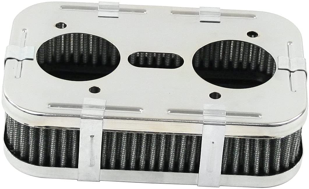 """Filtro de ar retangular para carburadores IDF 1"""" 3/4 de altura - Empi  - PRO-1 Serious Performance"""