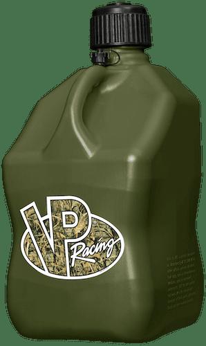 Galão Quadrado com Ventilação - Camo Green - VP RACING  - PRO-1 Serious Performance