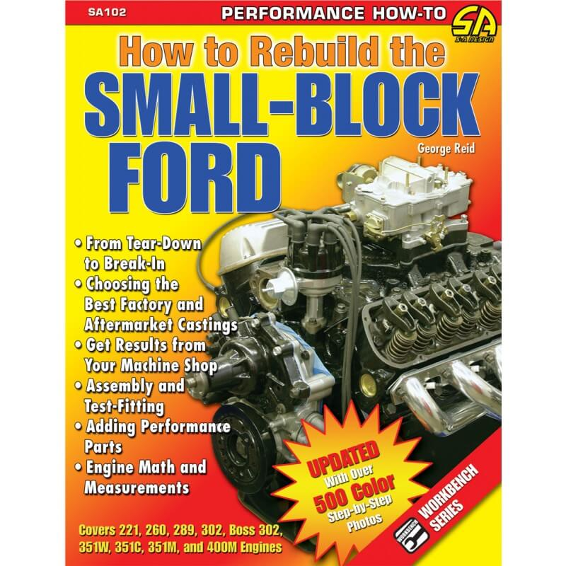 How to Rebuild Small Block Ford - CAR TECH  - PRO-1 Serious Performance