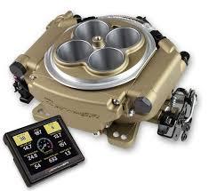 Injeção Eletrônica Sniper EFI - 800cfm - Dourada - Estilo Holley 4150 - HOLLEY  - PRO-1 Serious Performance