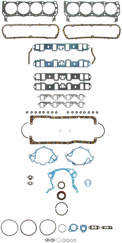 Jogo de Juntas para Ford V8 Small Block - FELPRO  - PRO-1 Serious Performance