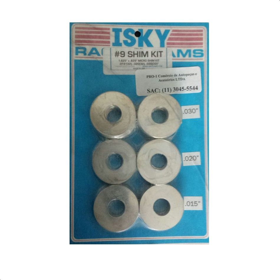 "Kit de Calço para Molas de Cabeçote 1.625"" x .625"" - 96 peças - ISKENDERIAN  - PRO-1 Serious Performance"
